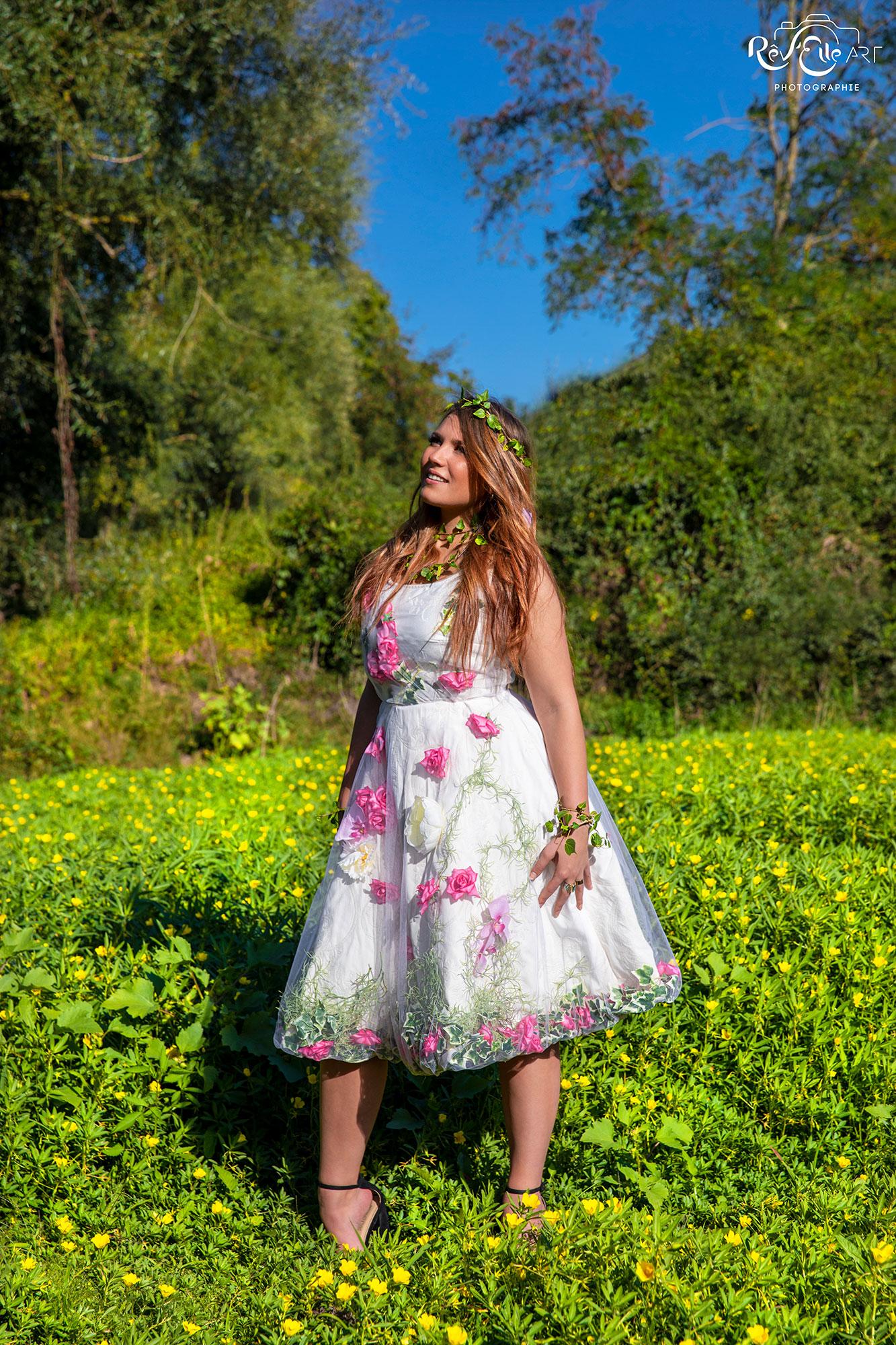 Robe de mariée - Rose